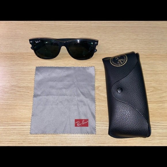 Ray-Ban New Wayfarer Classic Sunglasses - Black